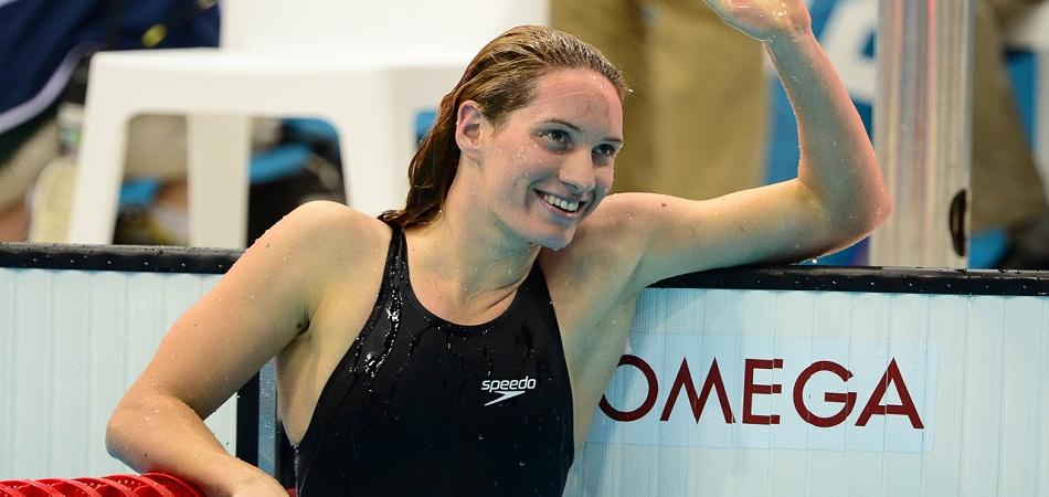 Camille Muffat, l'étoile filante de la natation française